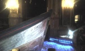 bateau église