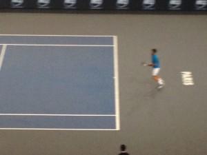 Djokovic calme en attendant la balle